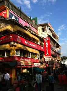 McLeodGanj square, Dharamsala