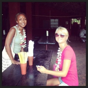 The Spice Plantation - myself and Irina