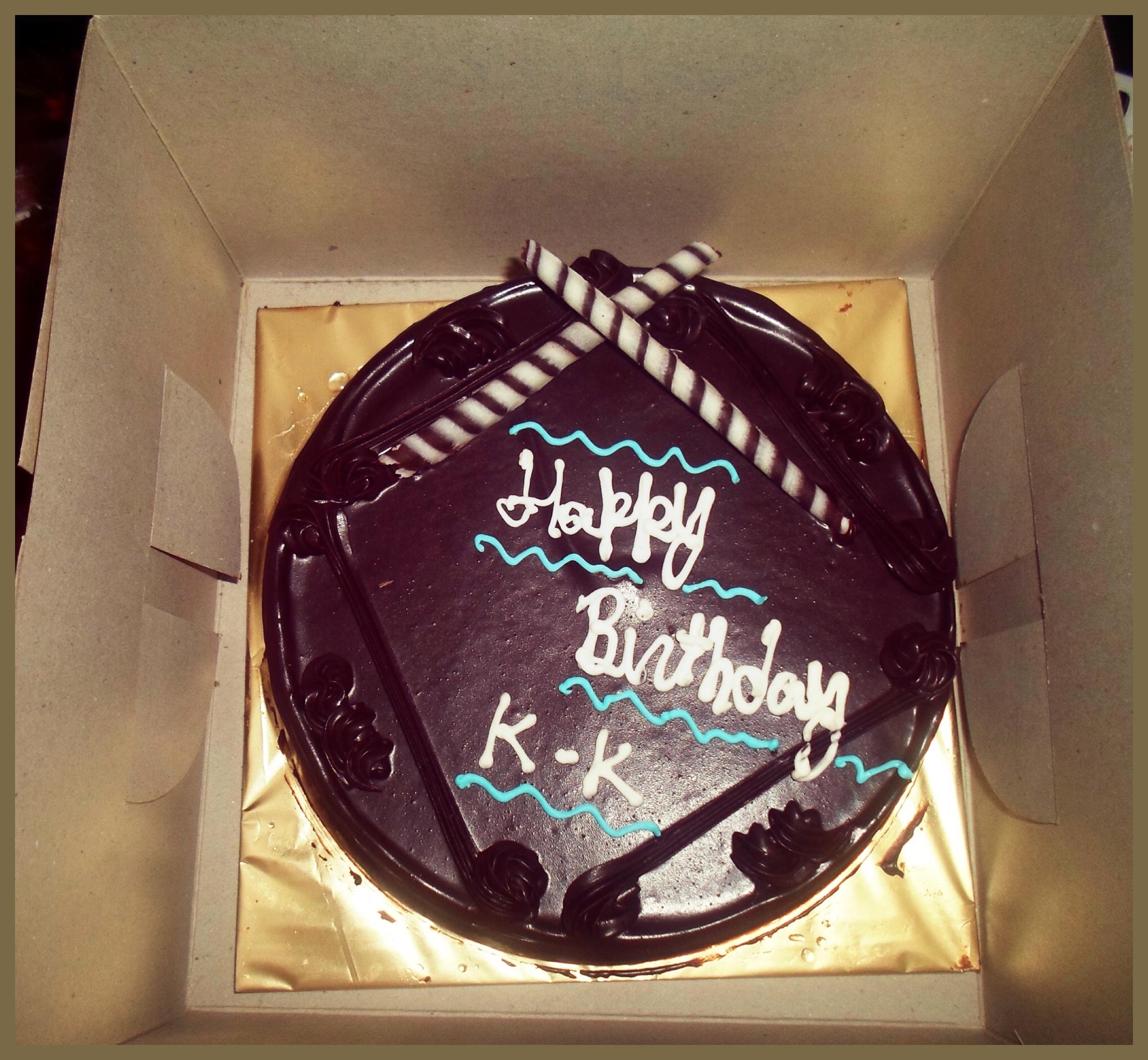 Vishal Birthday Cake Sweet N Savoury Triple Layer Chocolate Cake